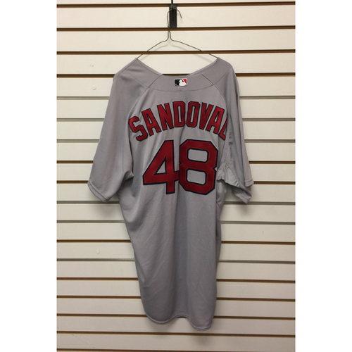 Photo of Pablo Sandoval Team-Issued 2015 Road Jersey