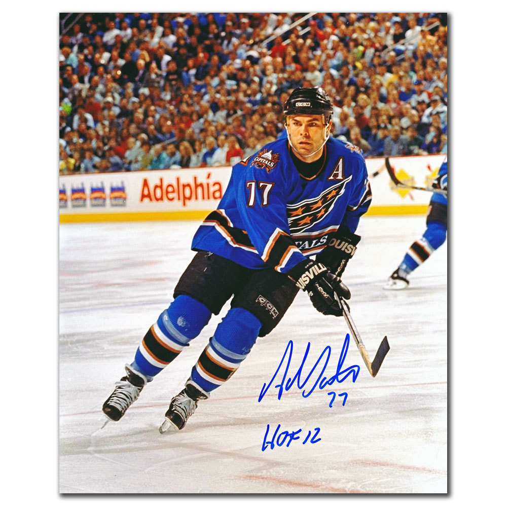 Adam Oates Washington Capitals HOF Autographed 8x10