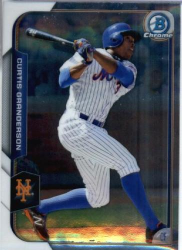 Photo of 2015 Bowman Chrome #82 Curtis Granderson