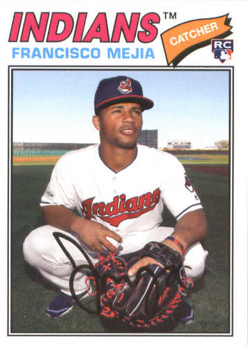 Photo of 2018 Topps Archives #106 Francisco Mejia RC