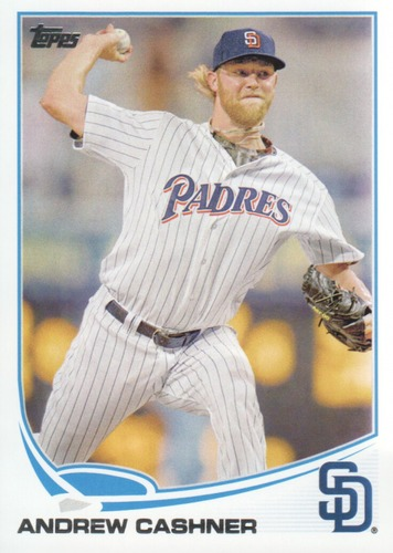 Photo of 2013 Topps #638 Andrew Cashner