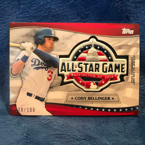 Photo of UMPS CARE AUCTION: 2018 Topps All-Star Game Cody Bellinger Commemorative Card/Patch