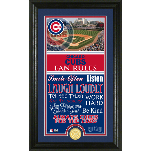 Photo of Chicago Cubs Fan Rules Supreme Bronze Coin Photo Mint