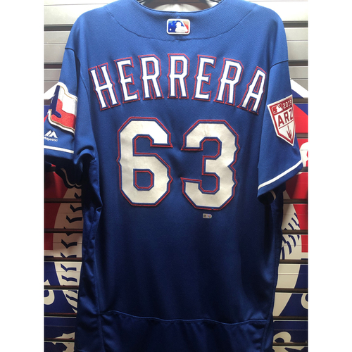 Photo of Ronald Herrera Team-Issued Spring Training Jersey