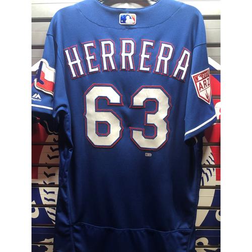 Ronald Herrera Team-Issued Spring Training Jersey