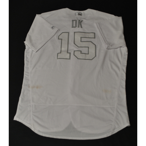 "Photo of Don ""DK"" Kelly Houston Astros Game-Used 2019 Players' Weekend Jersey"