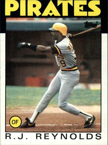 Photo of 1986 Topps #417 R.J. Reynolds