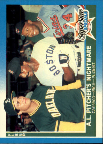 Photo of 1987 Fleer #633 Jose Canseco/Jim Rice/Kirby Puckett
