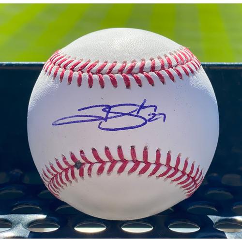 Photo of Colorado Rockies Autographed Baseball: Trevor Story
