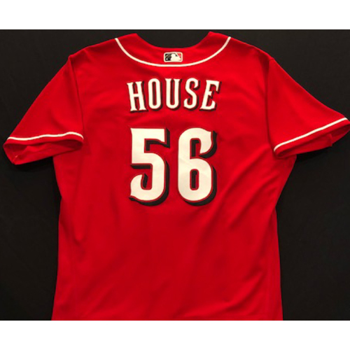 Photo of J.R. House -- 2020 Spring Training Jersey -- Team-Issued -- Size 46