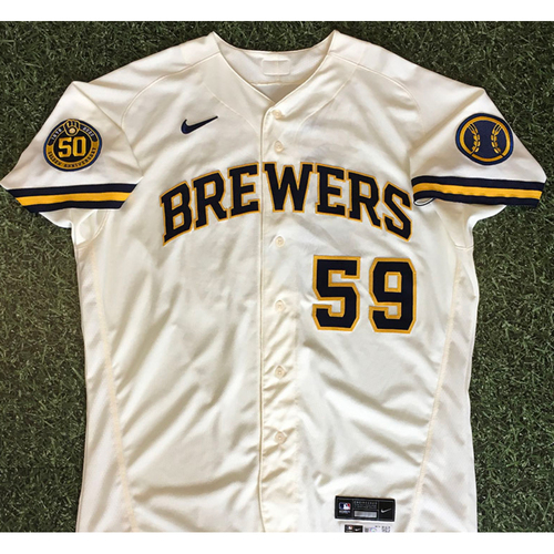 Photo of Pat Murphy 08/03/20 Team-Issued Home Opener Jersey