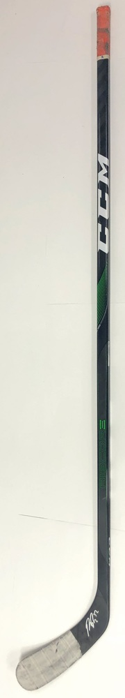#52 Patrick Russell Game Used Stick - Autographed - Edmonton Oilers