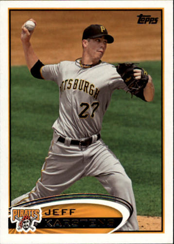 Photo of 2012 Topps #71 Jeff Karstens