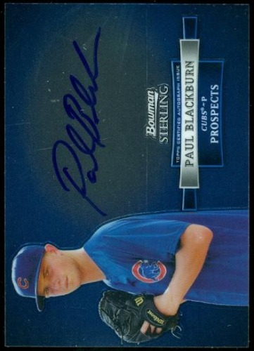Photo of 2012 Bowman Sterling Prospect Autographs #PB Paul Blackburn
