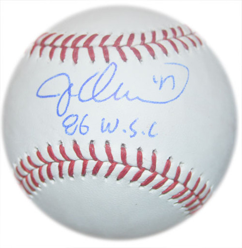 Jesse Orosco - Autographed Major League Baseball - Inscribed