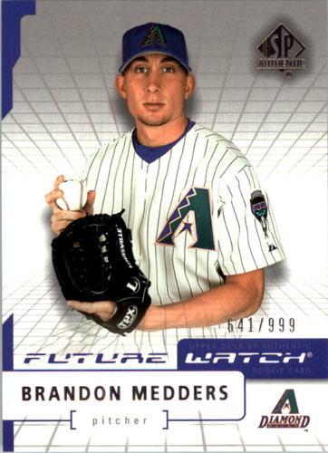 Photo of 2004 SP Authentic #92 Brandon Medders FW RC