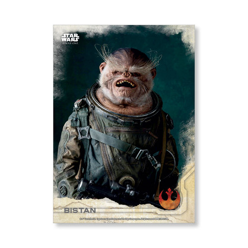 Bistan 2016 Star Wars Rogue One Series One Base Poster - # to 99