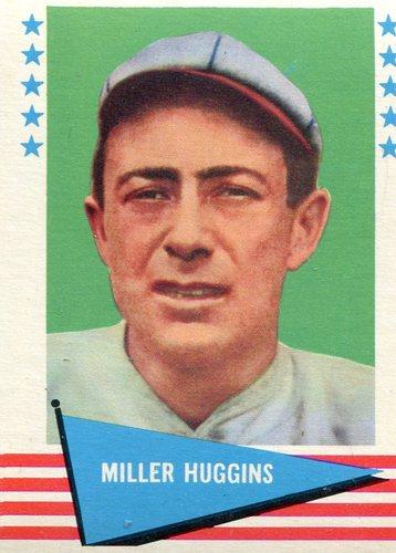 Photo of 1961 Fleer #46 Miller Huggins -- Hall of Fame Class of 1964