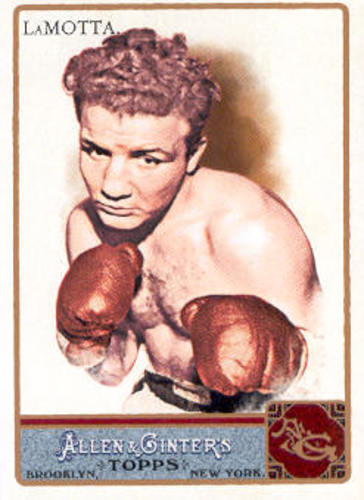 Photo of 2011 Topps Allen and Ginter #43 Jake LaMotta