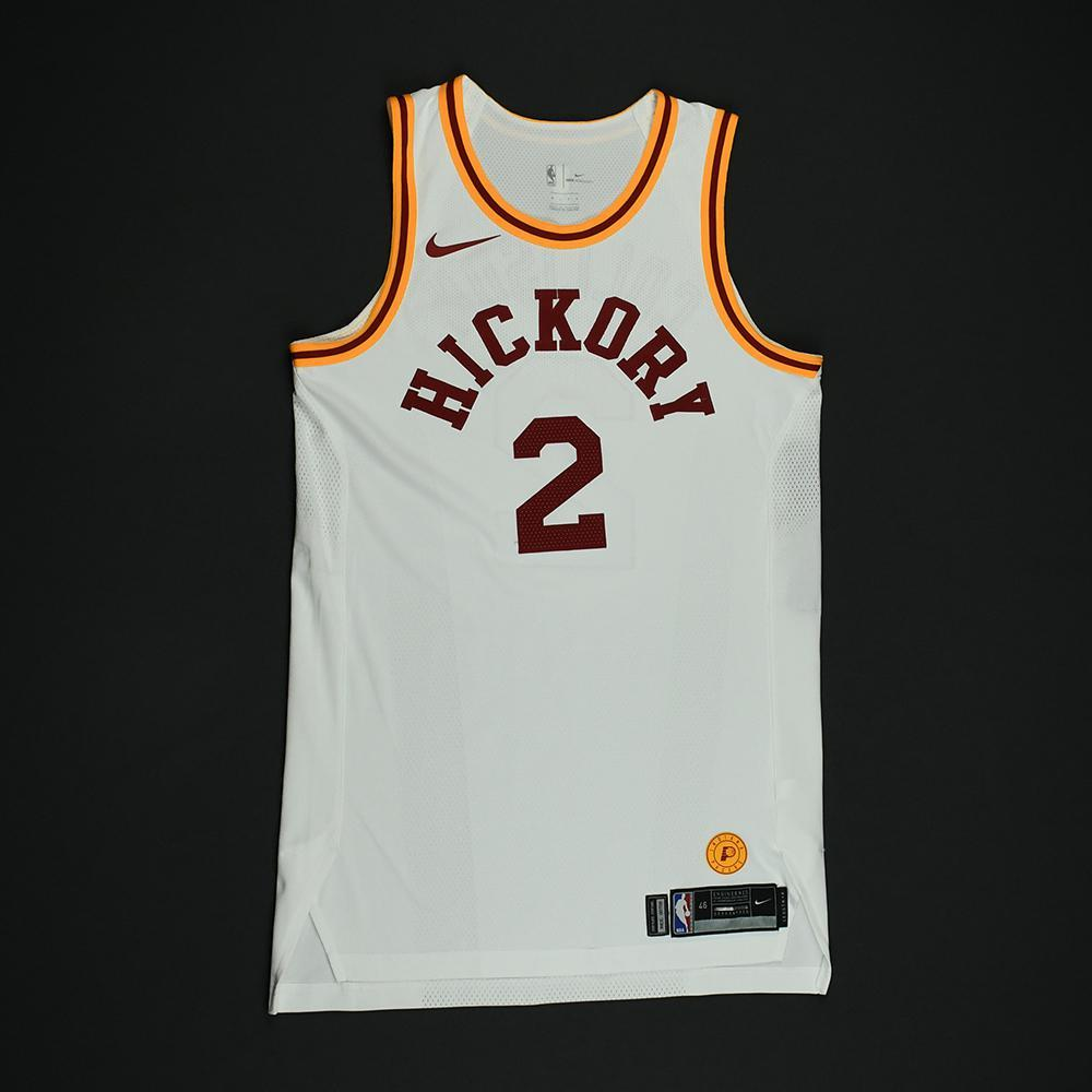 Darren Collison - Indiana Pacers - 1986 Hoosiers Movie - '1954-55 Hickory Road' Classic Edition Game-Worn Jersey