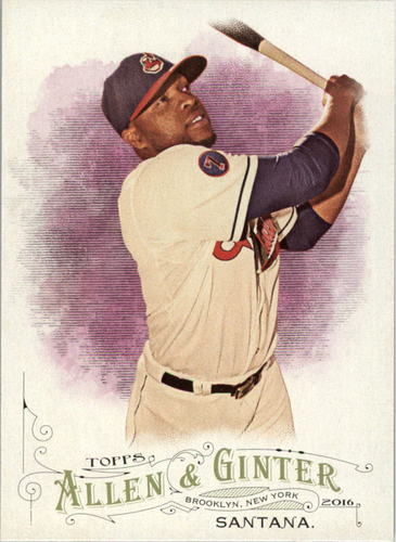 Photo of 2016 Topps Allen and Ginter #205 Carlos Santana
