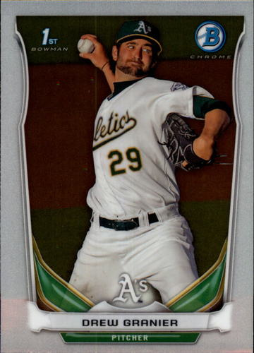 Photo of 2014 Bowman Chrome Prospects #BCP79 Drew Granier
