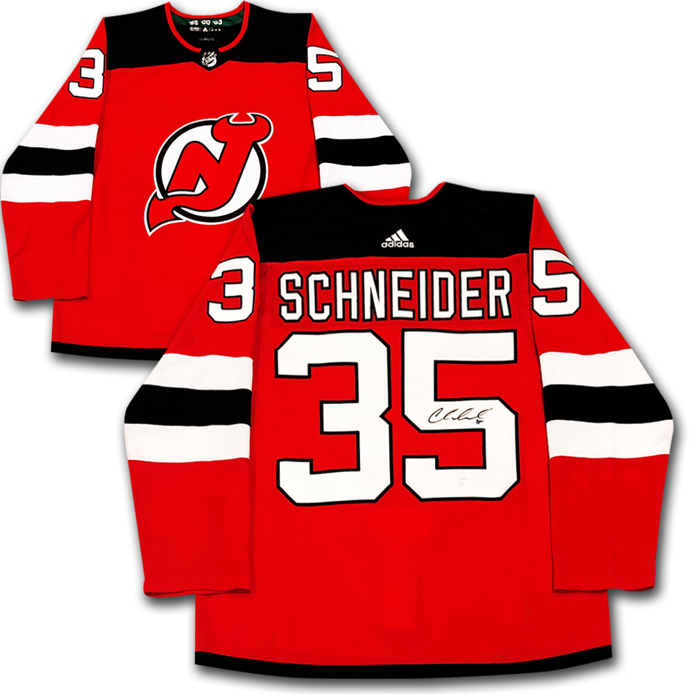 Cory Schneider Autographed New Jersey Devils adidas Pro Jersey