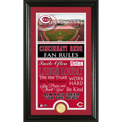 Photo of Cincinnati Reds Fan Rules Supreme Bronze Coin Photo Mint