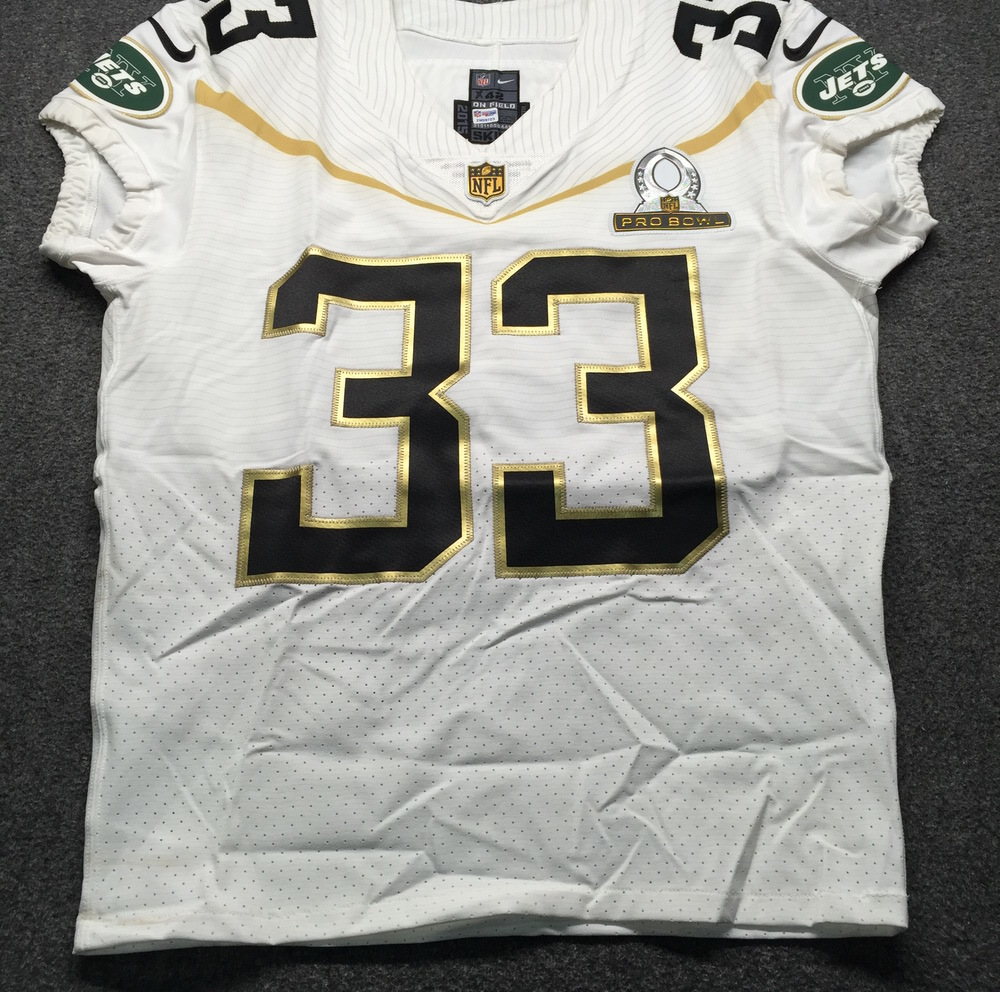 NFL Auction | NFL - Jets Chris Ivory Game Issued January 2016 Pro ...