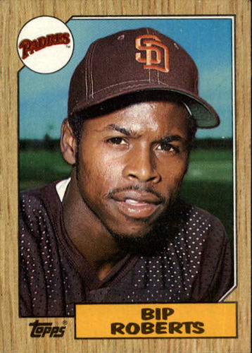 Photo of 1987 Topps #637 Bip Roberts RC