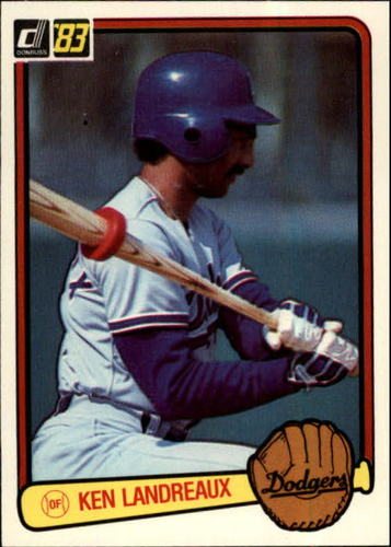 Photo of 1983 Donruss #236 Ken Landreaux