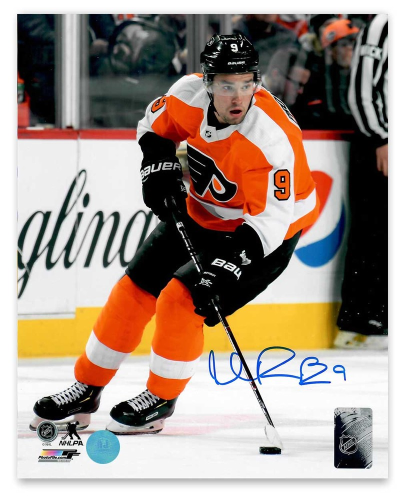 Ivan Provorov Philadelphia Flyers Autographed Hockey Action 8x10 Photo