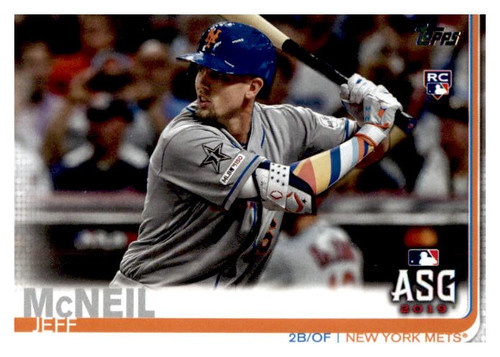 Photo of 2019 Topps Update #US261 Jeff McNeil AS