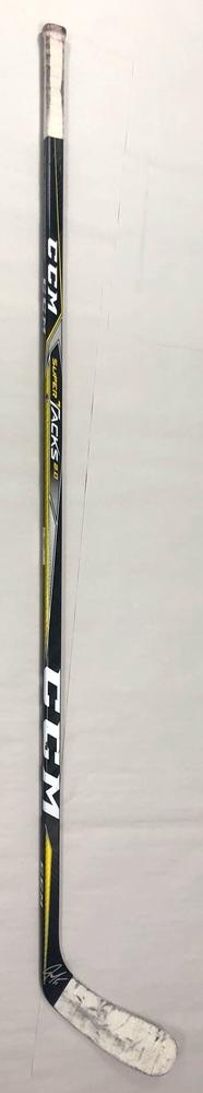 #51 Jake Gardiner Game Used Stick - Autographed - Carolina Hurricanes