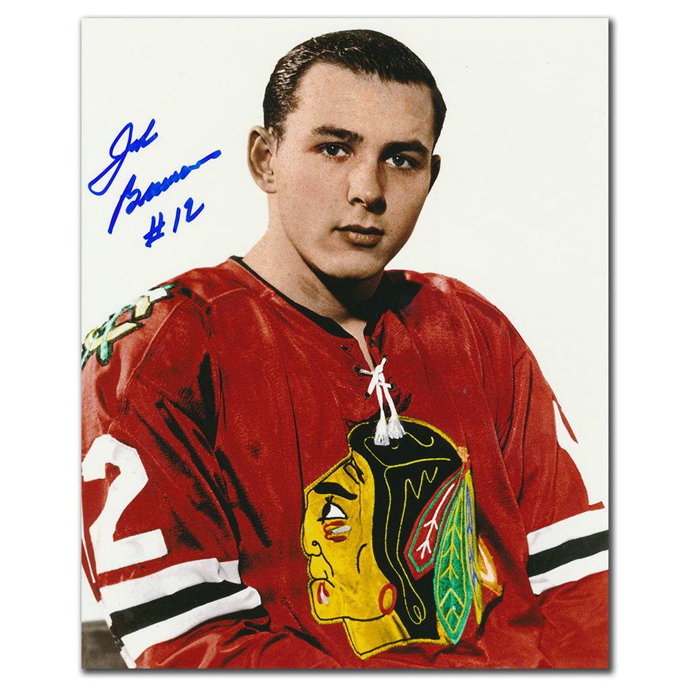 John Brenneman Chicago Blackhawks Autographed 8x10