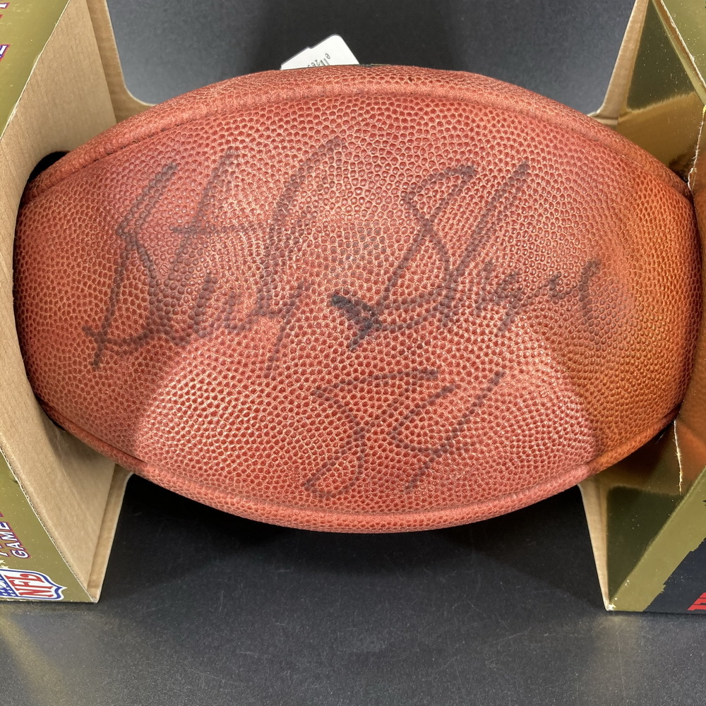 Legends - Packers Sterling Sharpe Signed Authentic Football
