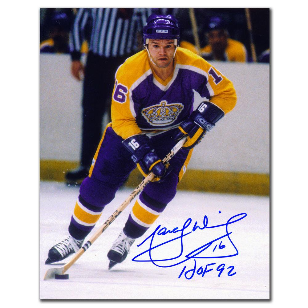 Marcel Dionne Los Angeles Kings HOF Autographed 8x10