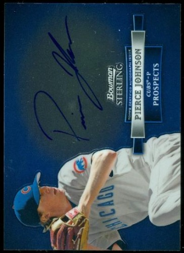 Photo of 2012 Bowman Sterling Prospect Autographs #PJ Pierce Johnson