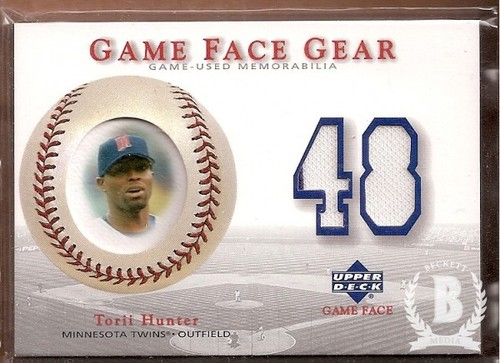 Photo of 2003 Upper Deck Game Face Gear #HU Torii Hunter