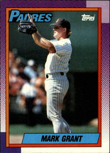 Photo of 1990 Topps #537 Mark Grant