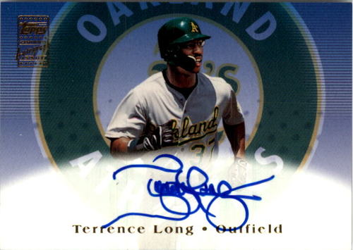 Photo of 2002 Topps Autographs #TA7 Terrence Long E1