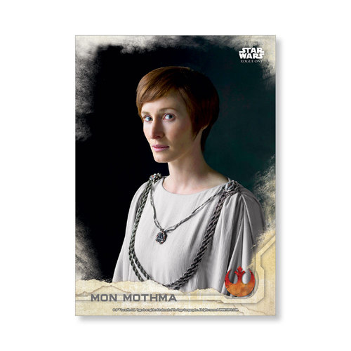 Mon Mothma 2016 Star Wars Rogue One Series One Base Poster - # to 99