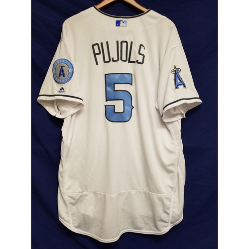 Albert Pujols Game-Used Home Fathers Day Jersey