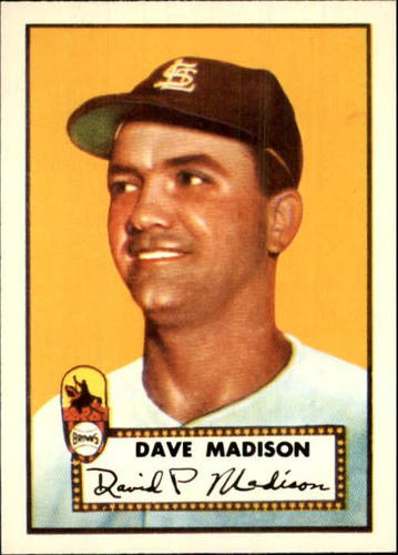 Photo of 1983 Topps 1952 Reprint #366 Dave Madison