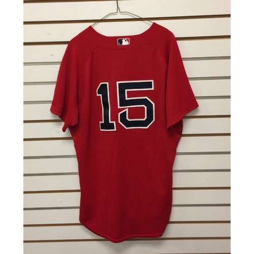 Photo of Dustin Pedroia Team-Issued 2009 Home Alternate Jersey