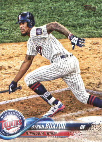 Photo of 2018 Topps #127 Byron Buxton