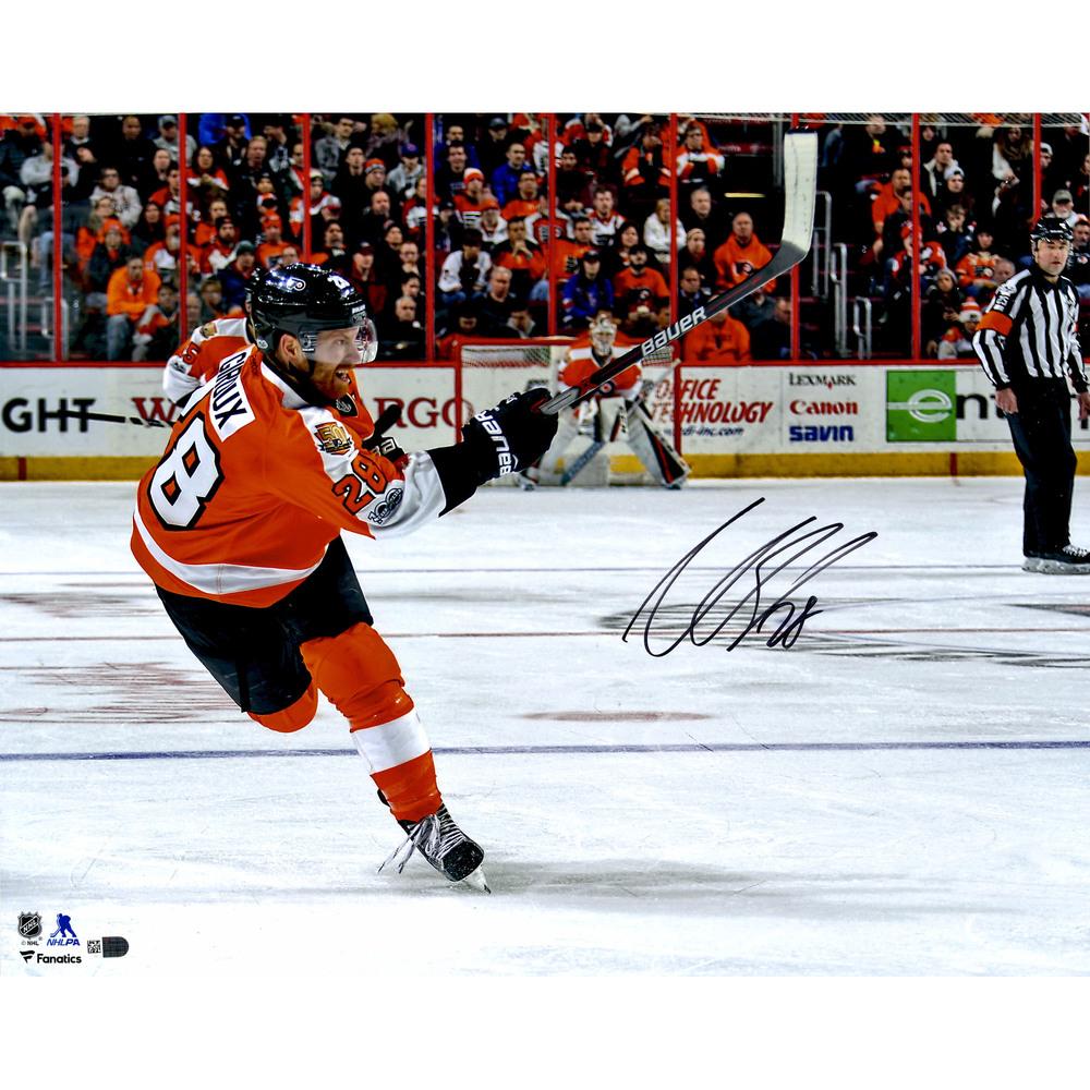 Claude Giroux Philadelphia Flyers Autographed 16