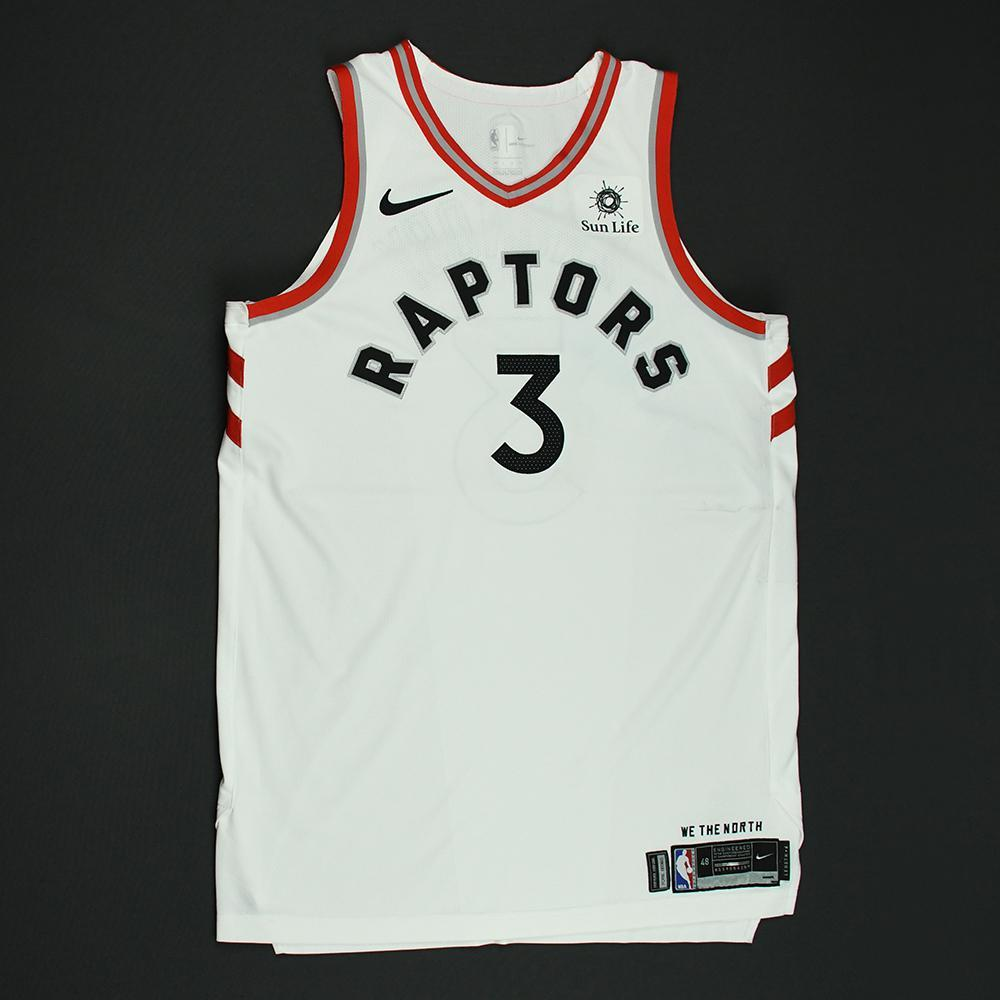 online store a9209 2e633 OG Anunoby - Toronto Raptors - 2018 NBA Playoffs Game-Worn ...