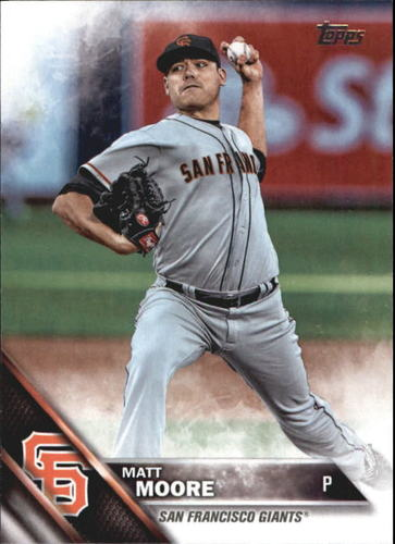 Photo of 2016 Topps Update #US148 Matt Moore