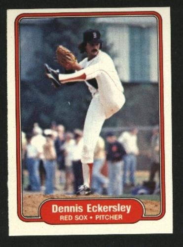 Photo of 1982 Fleer #292 Dennis Eckersley
